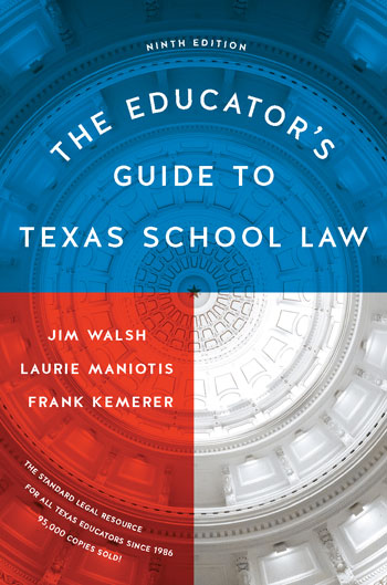 Cover of Educator's Guide to Texas School Law 9