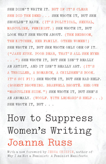 Cover of How to Suppress Women's Writing 2