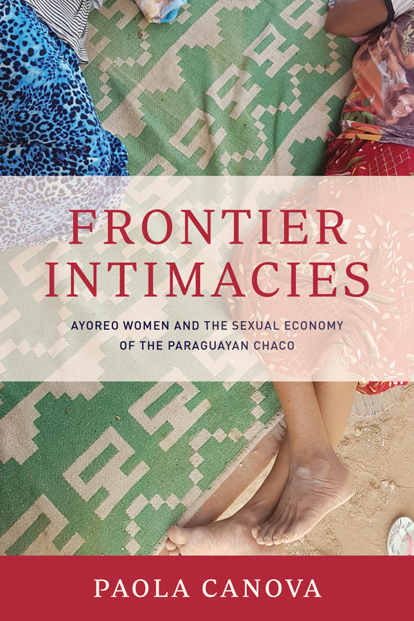 Cover of Frontier Intimacies