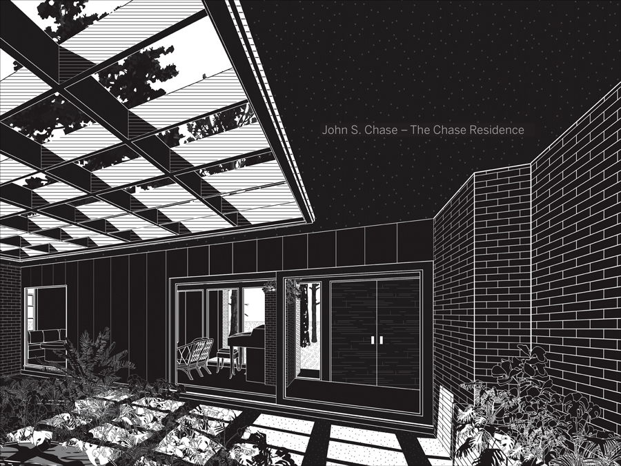 Cover of John S. Chase–The Chase Residence