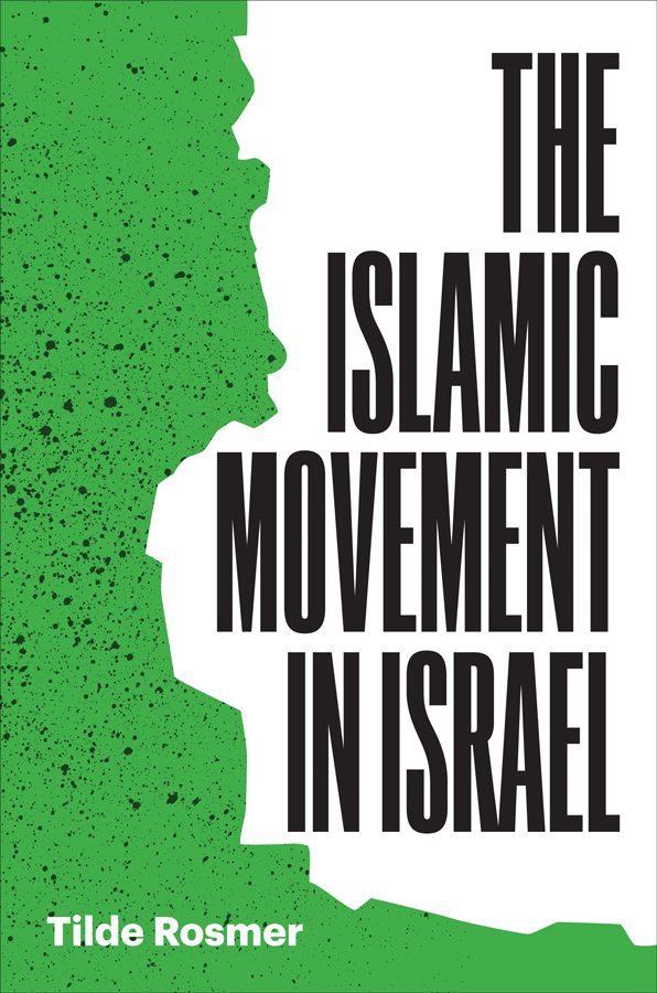 Cover of The Islamic Movement in Israel