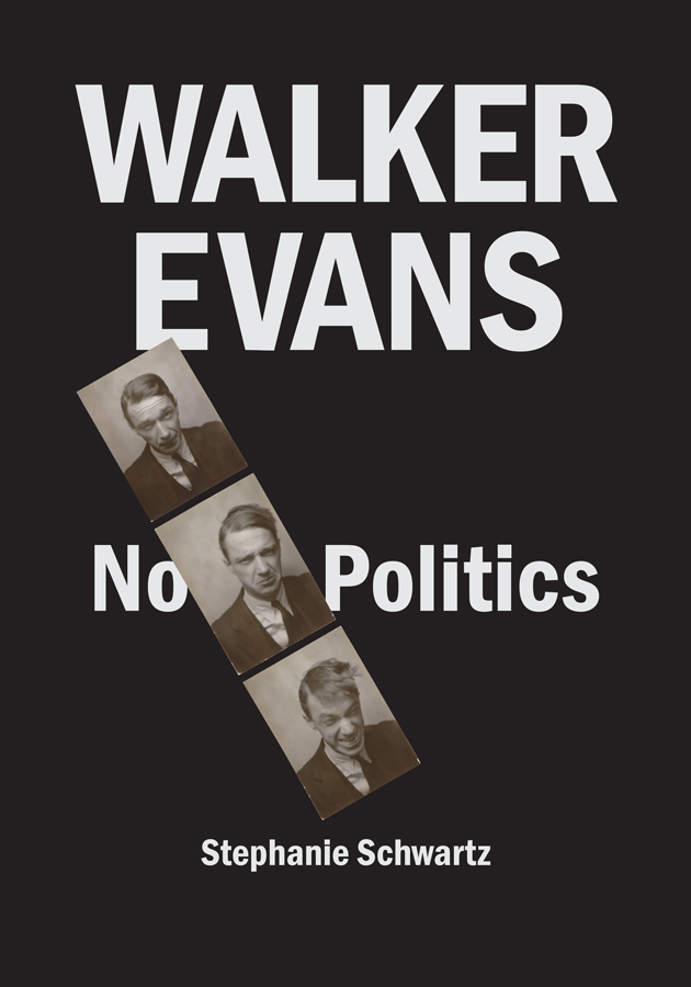 Cover of Walker Evans