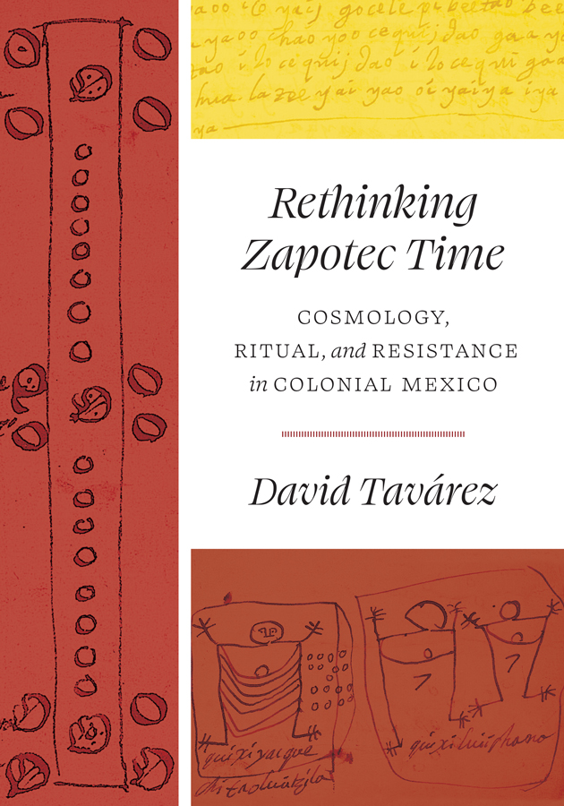 Cover of Rethinking Zapotec Time