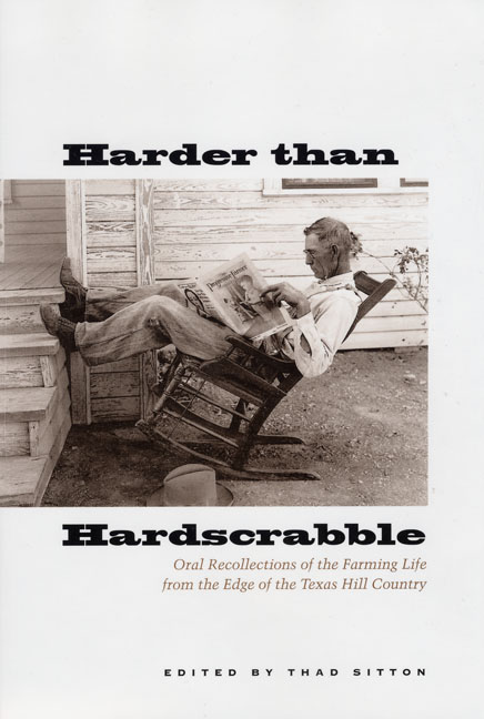 Cover of Harder than Hardscrabble