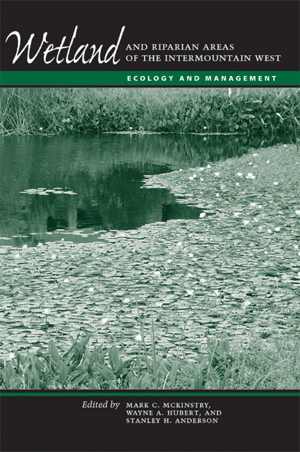Cover of Wetland and Riparian Areas of the Intermountain West