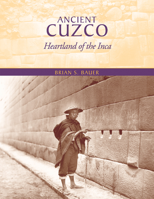 Cover of Ancient Cuzco
