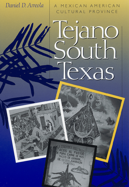 Cover of Tejano South Texas