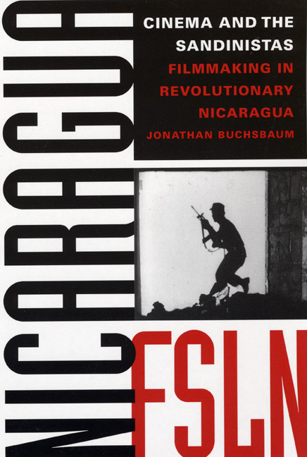 Cover of Cinema and the Sandinistas