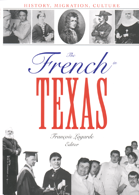 Cover of The French in Texas
