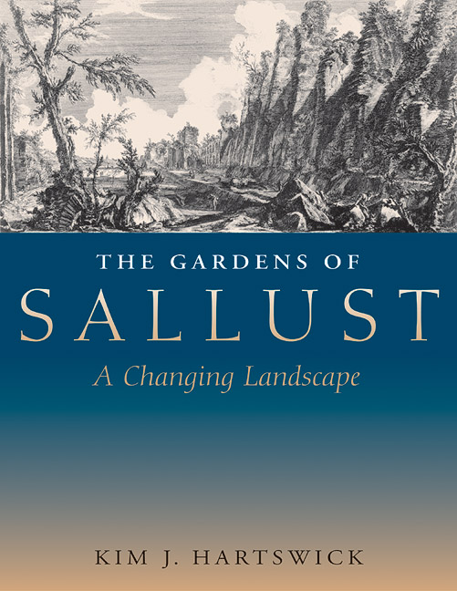 Cover of The Gardens of Sallust
