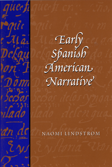 Cover of Early Spanish American Narrative