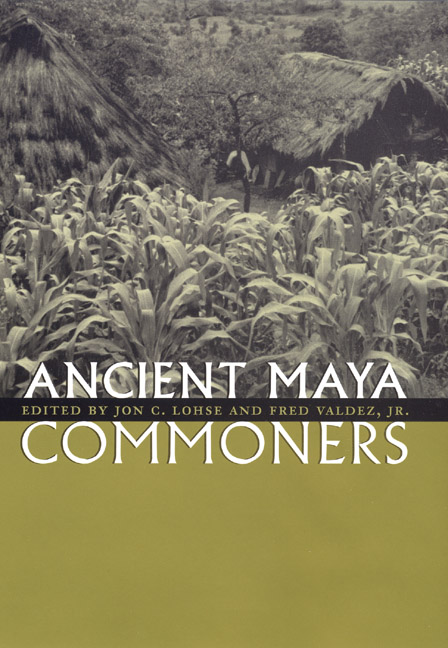 Cover of Ancient Maya Commoners
