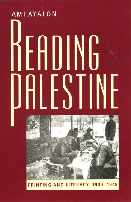 Cover of Reading Palestine