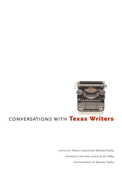 Cover of Conversations with Texas Writers