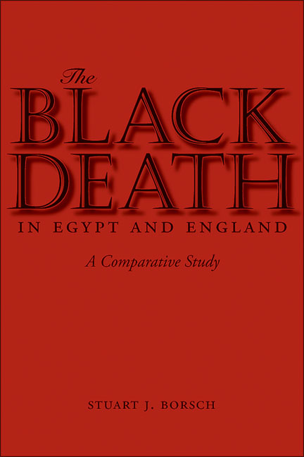 Cover of The Black Death in Egypt and England