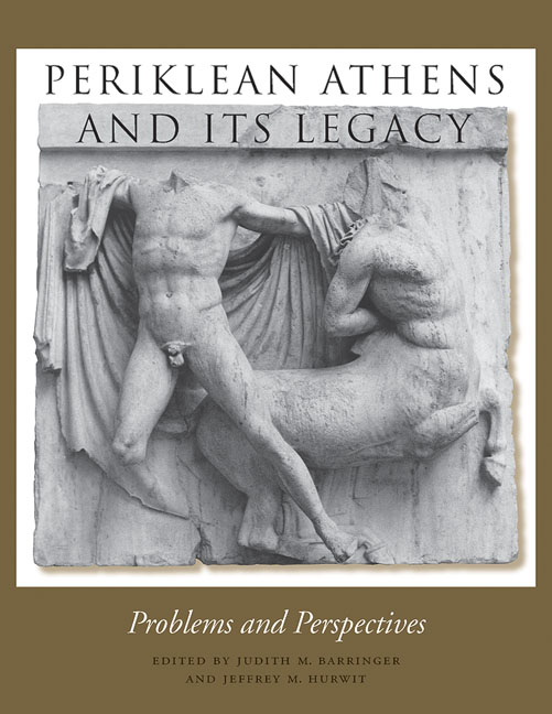 Cover of Periklean Athens and Its Legacy