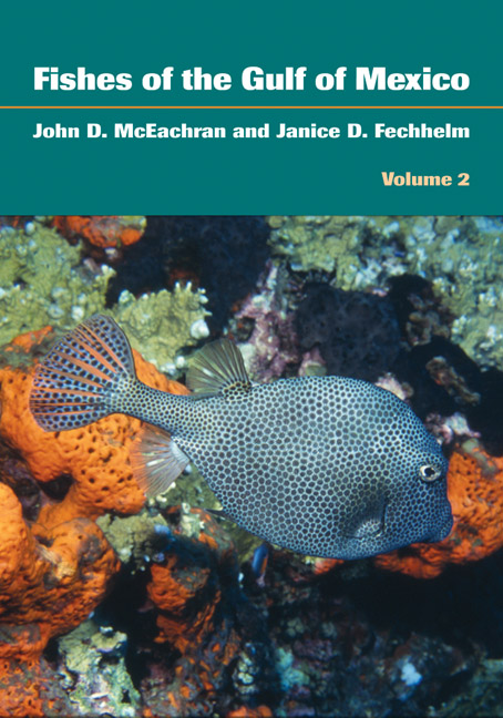 Cover of Fishes of the Gulf of Mexico, Vol. 2
