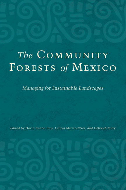 Cover of The Community Forests of Mexico