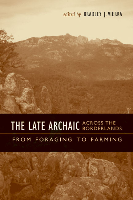 Cover of The Late Archaic across the Borderlands