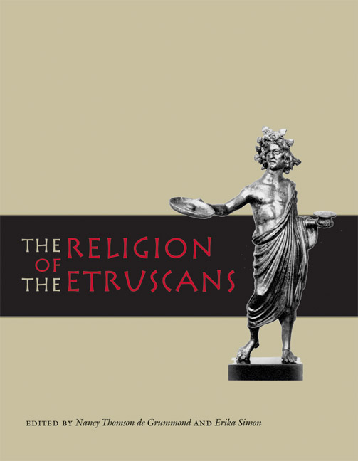 Cover of The Religion of the Etruscans