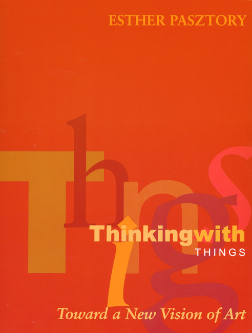 Cover of Thinking with Things