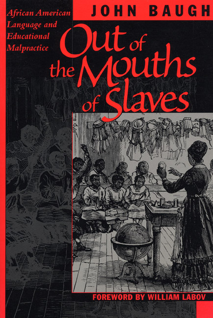 Cover of Out of the Mouths of Slaves