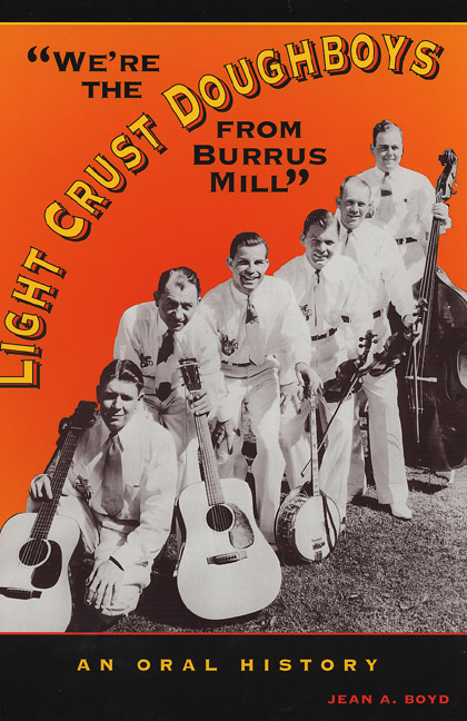 "Cover of ""We're the Light Crust Doughboys from Burrus Mill"""
