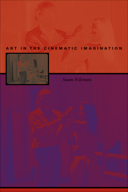 Cover of Art in the Cinematic Imagination