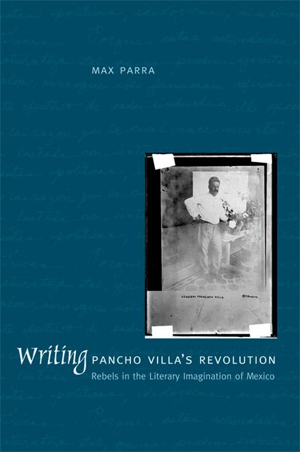 writing pancho villa s revolution rebels in the literary  cover of writing pancho villa 039 s revolution