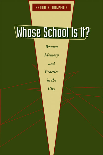 Cover of Whose School Is It?