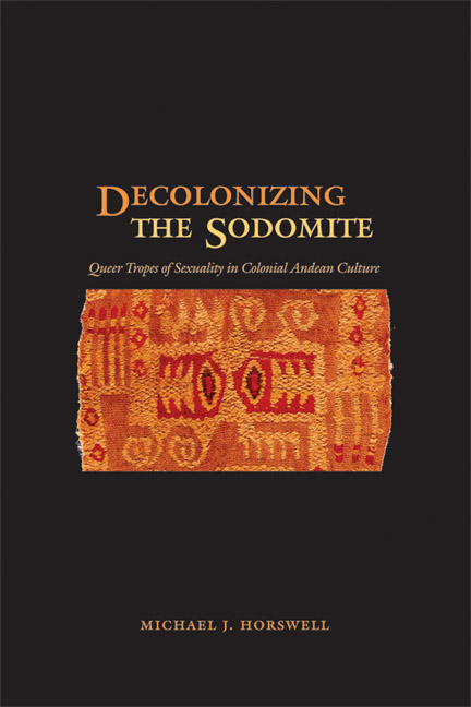 Cover of Decolonizing the Sodomite