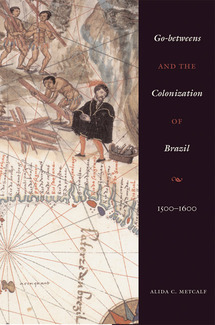 Cover of Go-Betweens and the Colonization of Brazil
