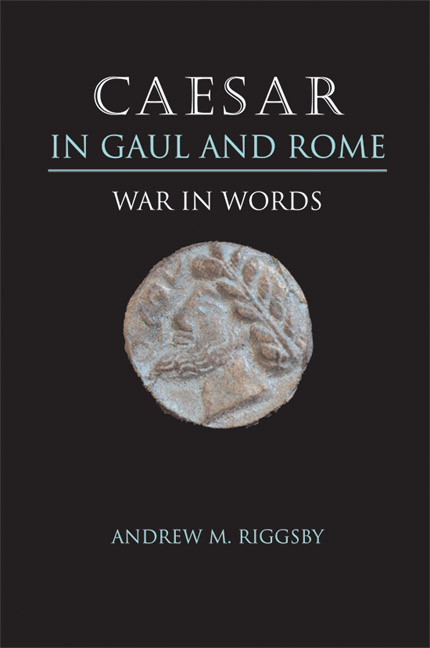 Cover of Caesar in Gaul and Rome