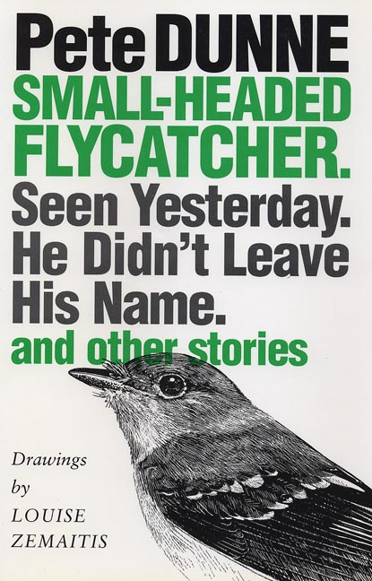 Cover of Small-headed Flycatcher. Seen Yesterday. He Didn't Leave His Name.