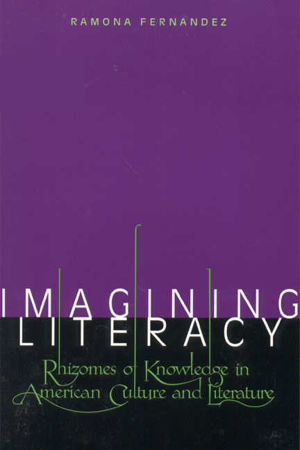 Cover of Imagining Literacy