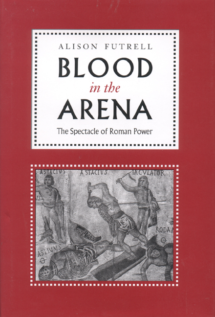 Cover of Blood in the Arena