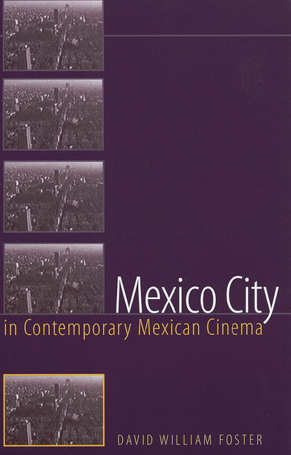 Cover of Mexico City in Contemporary Mexican Cinema