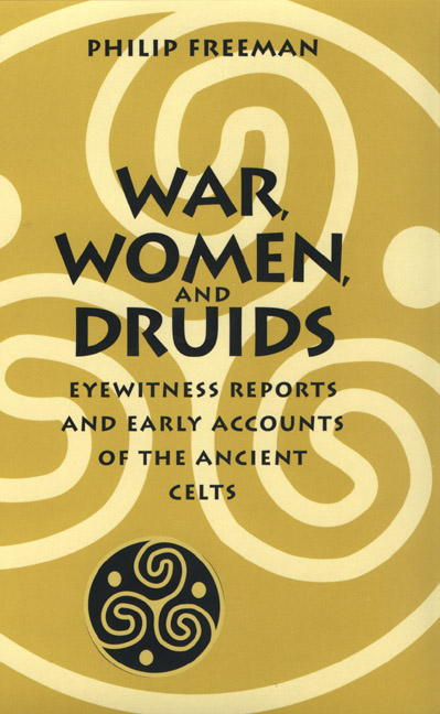 Cover of War, Women, and Druids