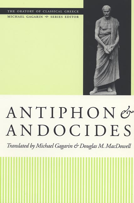 Cover of Antiphon and Andocides
