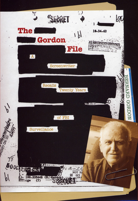 Cover of The Gordon File
