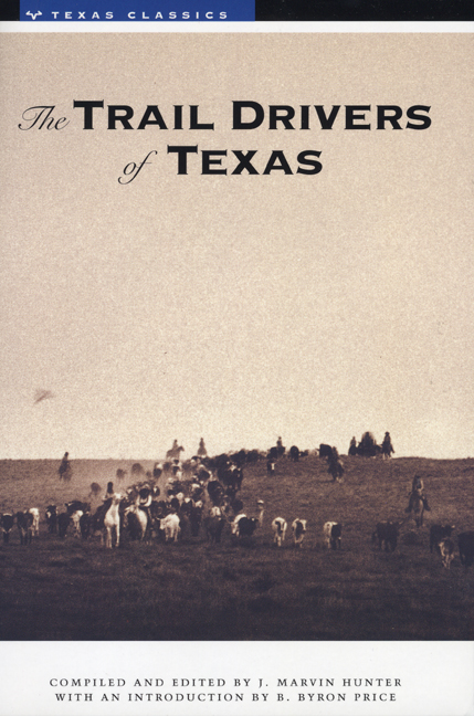 Cover of The Trail Drivers of Texas