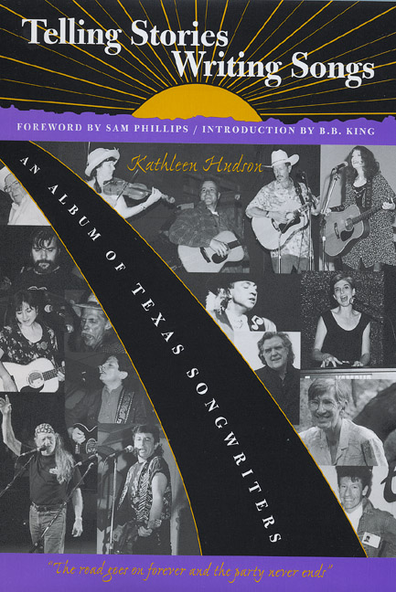 Cover of Telling Stories, Writing Songs