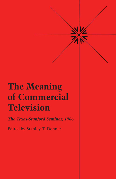 Cover of The Meaning of Commercial Television