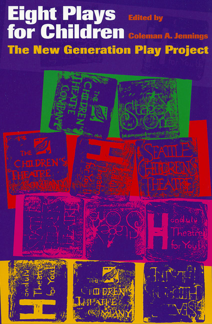 Cover of Eight Plays for Children