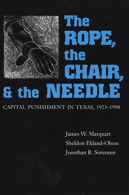 Cover of The Rope, The Chair, and the Needle