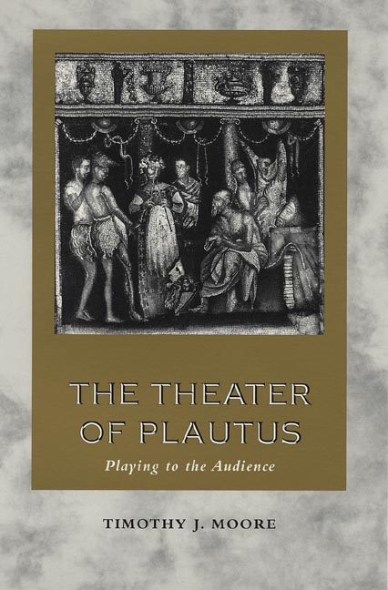 Cover of The Theater of Plautus