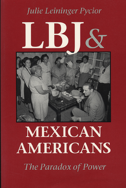 Cover of LBJ and Mexican Americans