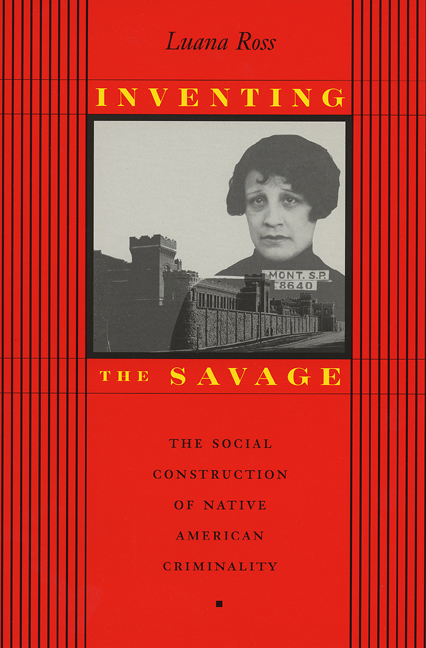 Cover of Inventing the Savage