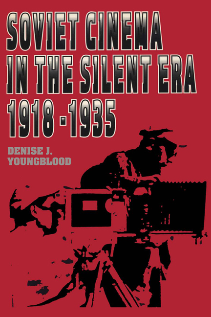Cover of Soviet Cinema in the Silent Era, 1918–1935