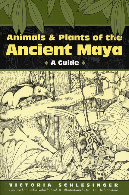 Cover of Animals and Plants of the Ancient Maya